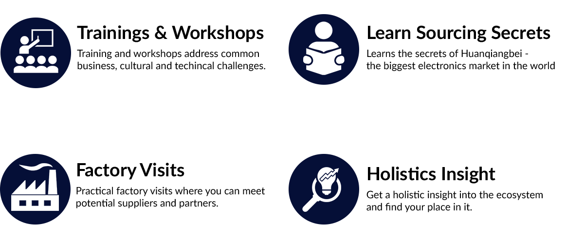 Bootcamp Features Icons